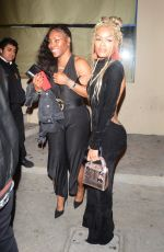 Teyana Taylor In a backless gown at Catch