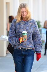 Toni Garrn Grabs coffee with a friend in West Hollywood
