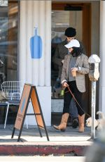 Vanessa Hudgens Out with her dog in Los Angeles