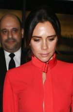 Victoria Beckham Leaving her Dover Street Store in Mayfair, London