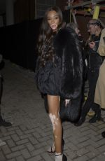 Winnie Harlow At the Burberry x Vivienne Westwood party in London