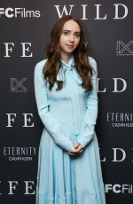 Zoe Kazan At Calvin Klein Hosts IFC Films