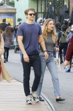 Ali Collier Shopping in Los Angeles