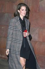 Allison Williams Out for an appearance on the late show with seth meyers in NYC