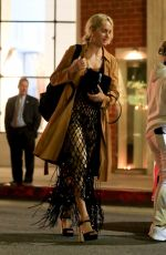Amber Valletta Enjoys dinner at Mr. Chow in Beverly Hill