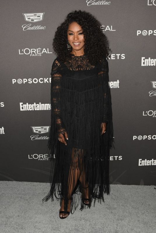 Angela Bassett At Entertainment Weekly Pre-SAG Party in Los Angeles