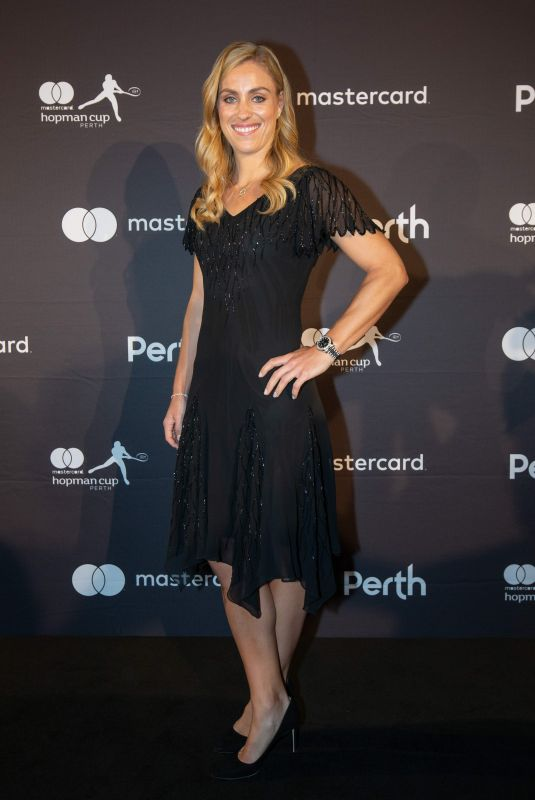 Angelique Kerber Attends the hopman cup new year