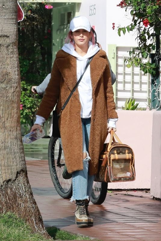 Ashley Tisdale Out for lunch in Santa Monica