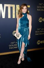 Bethany Joy Lenz At Showtime 2019 Golden Globes nominees celebration, held at the Sunset Tower Hotel in West Hollywood