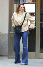 Brooke Shields Out in NYC