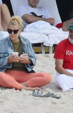 Busy Philipps At the beach in Mexico