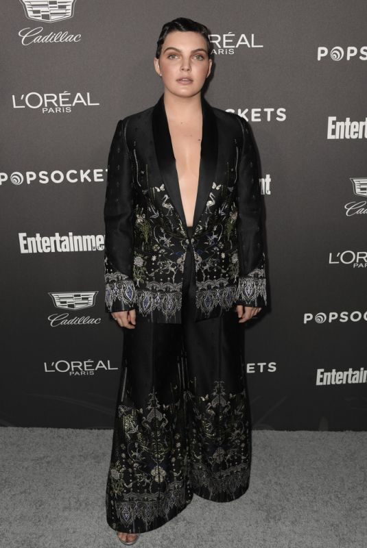Camren Bicondova At Entertainment Weekly Pre-SAG Party in LA