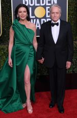 Catherine Zeta-Jones At 76th Annual Golden Globe Awards in Beverly Hills
