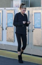 Charlotte McKinney Shops after a midday workout in Los Angeles