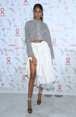 "Cindy Bruna At 17th ""Diner De La Mode"" at Paris Fashion Week"