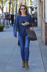 Claire Forlani Runs a few errands in Beverly Hills