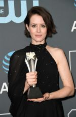 Claire Foy At 24th Annual Critics