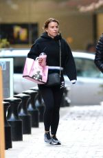 Coleen Rooney Out in Washington