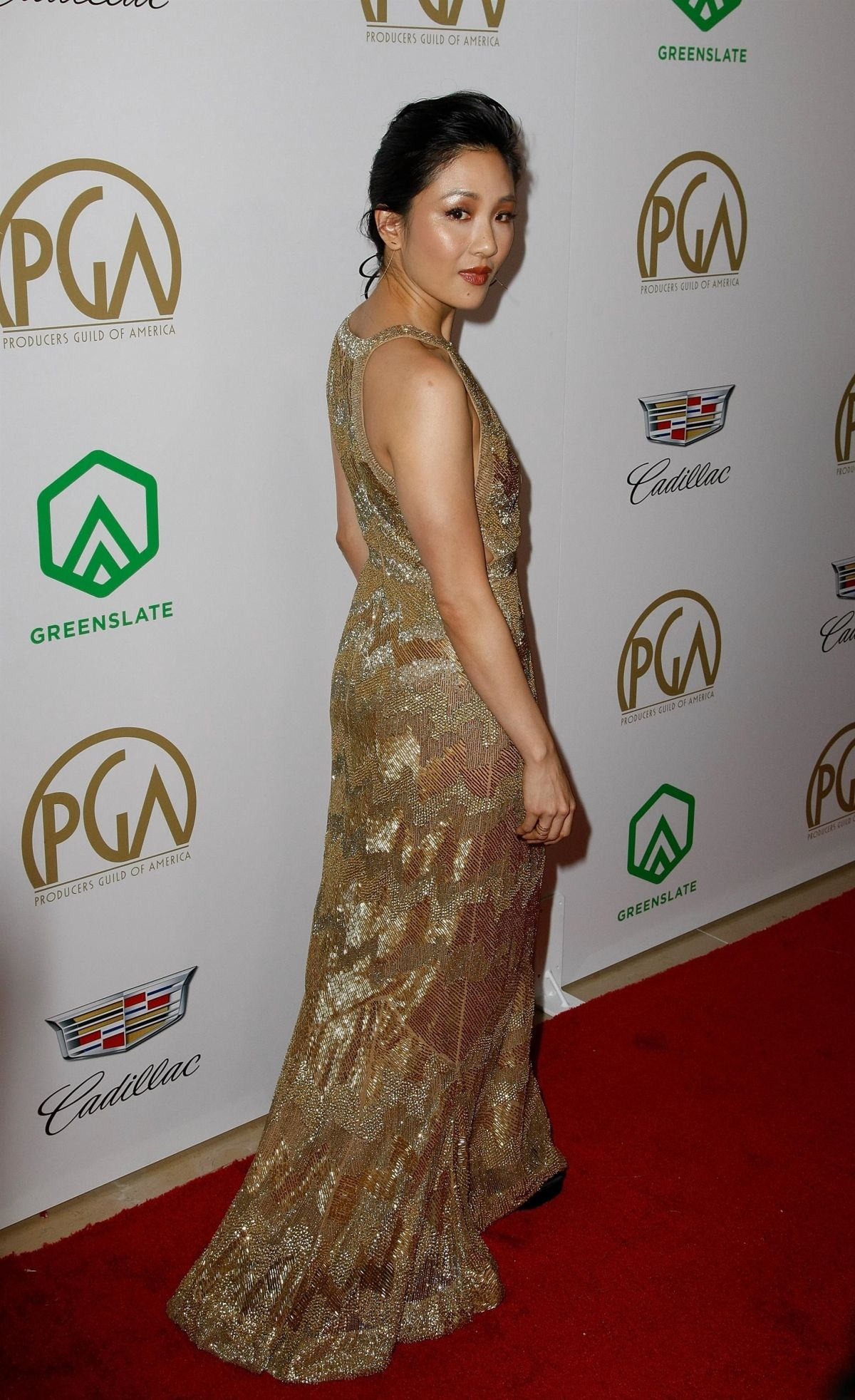 Constance Wu At 30th Annual Producers Guild Awards in Bevrly