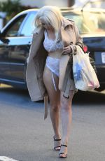 Courtney Stodden Grocery shopping in West Hollywood