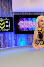Courtney Stodden Hosts her first show on AfterBuzz TV
