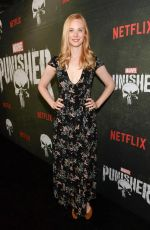 Deborah Ann Woll At The Punisher Season 2 Premiere in LA