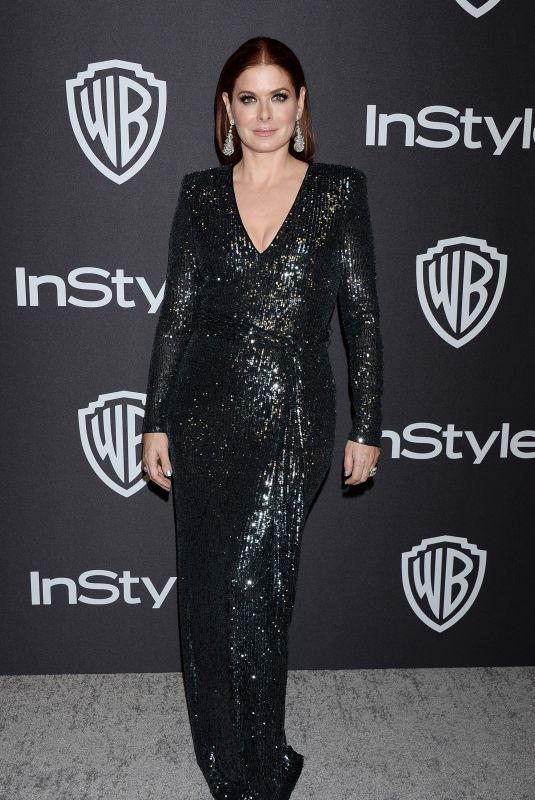 Debra Messing At instyle and warner bros golden globes after party in Beverly Hills