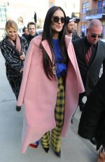 Demi Moore Hits the streets during Sundance Film Festival