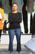Draya Michele Out with her son Kniko Howard in Beverly Hills
