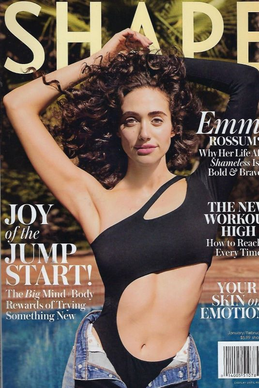 Emmy Rossum - Shape Magazine January / February 2019