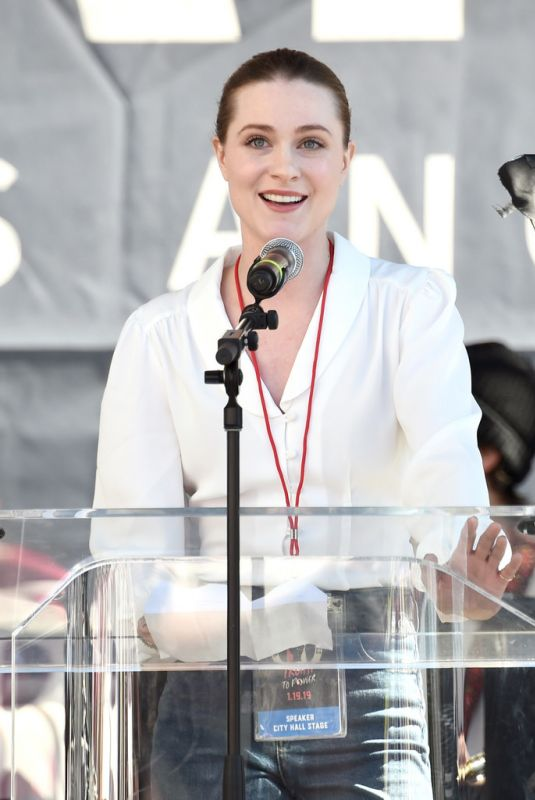 Evan Rachel Wood At 2019 women