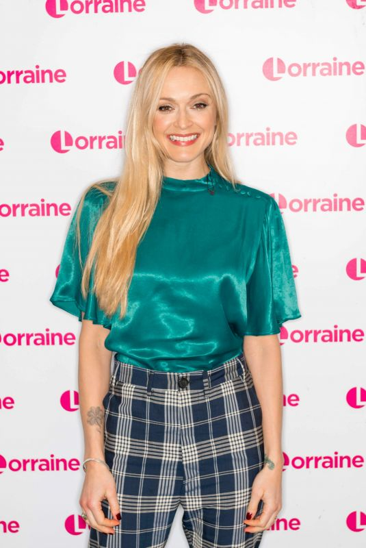 Fearne Cotton At lorraine tv show in London