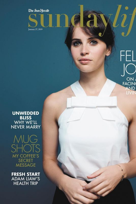 Felicity Jones - Sunday Life Magazine January 2019