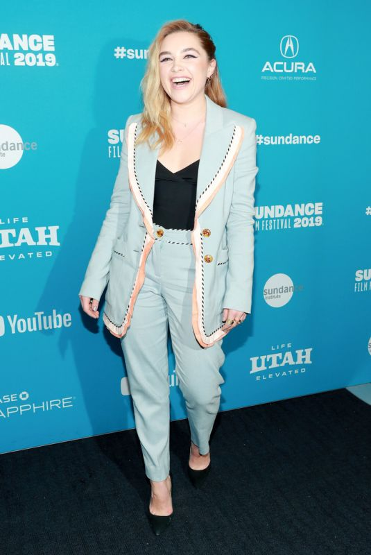 """Florence Pugh At """"Fighting With My Family"""" Premiere - 2019 Sundance Film Festival"""