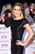 Gemma Oaten At 23rd National Television Awards, O2, London, UK