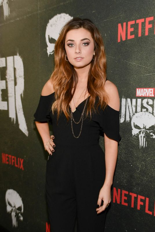 Giorgia Whigham At The Punisher Season 2 Premiere in LA