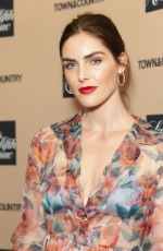Hilary Rhoda At 2019 Town & Country Jewelry Award in New York