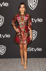 Isabela Moner At InStyle and Warner Bros Golden Globes After Party at The Beverly Hilton Hotel in Beverly Hills