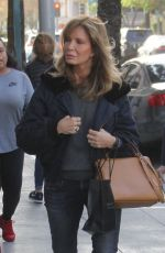 Jaclyn Smith Shopping in Beverly Hills