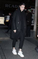 Jaimie Alexander At Night Out in New York