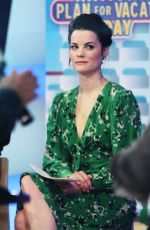 Jaimie Alexander At Today Show in New York