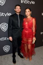 Jamie Chung At instyle & wb 76th annual golden globe awards post-party, Beverly Hills