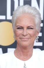 Jamie Lee Curtis Attends the 76th Annual Golden Globe Awards in Beverly Hills