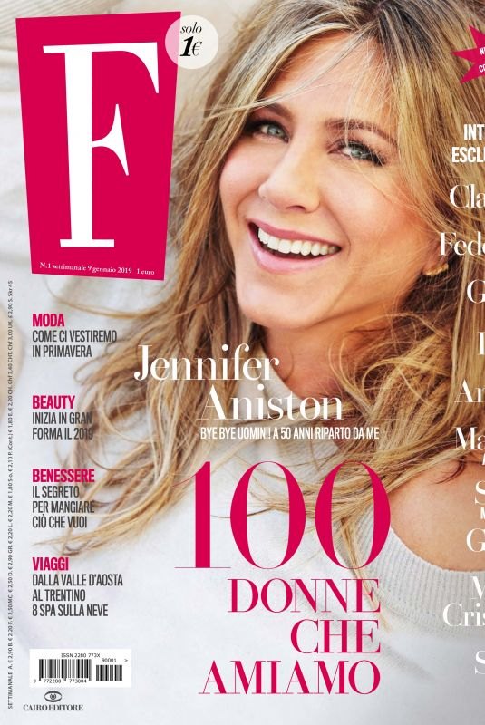 Jennifer Aniston - F. N1 Magazine January 2019