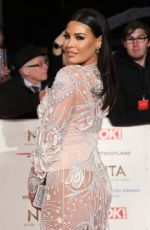 Jessica Wright At 23rd National Television Awards, O2, London, UK