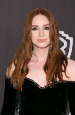 Karen Gillan At instyle and warner bros golden globes after party in Beverly Hills