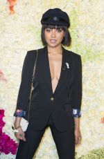 Kat Graham At Schiaparelli show VIP photocall in Paris