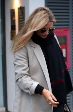 Kate Moss Leaving a health spa in London