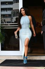 Kim Kardashian Out In Miami