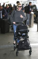 Kirsten Dunst At LAX airport in Los Angeles
